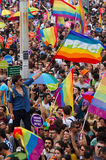 Istanbul LGBT Pride parade Stock Images