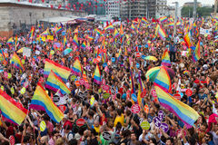 Istanbul LGBT Pride parade Stock Photos