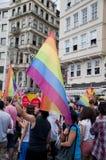 Istanbul LGBT stolthet 2013 Fotografering för Bildbyråer