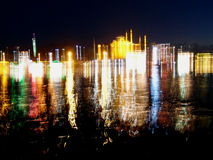 Istanbul lights Royalty Free Stock Photography