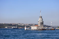 Istanbul. Maiden s Tower in Istanbul, Turkey Royalty Free Stock Photography