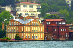 Istanbul mansions Royalty Free Stock Photos