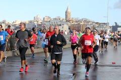 38. Istanbul Marathon Royalty Free Stock Photography