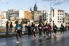 Istanbul maraton 2016 Royaltyfria Foton