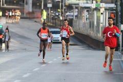 38 Istanbul maraton Royaltyfria Foton