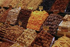 Istanbul market Stock Photo