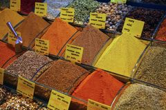 Istanbul market Stock Images
