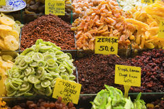 Istanbul market stock photography