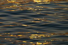 Calm Sea wave sunset view blue water ocean. Istanbul marmara sea, sunset on the islands royalty free stock photos