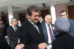 Istanbul mayor candidate Mustafa Sarigul Stock Photos