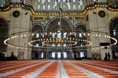 istanbul meczetowy suleymaniye indyk Obrazy Stock