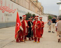 Turkey/Istanbul: Ottoman Empire Military Band Stock Images
