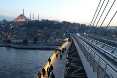 Istanbul Metro Bridge Stock Image