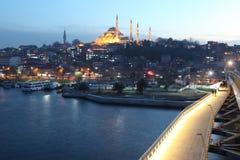 Istanbul Metro Bridge Royalty Free Stock Photos
