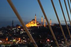 Istanbul Metro Bridge Stock Photo