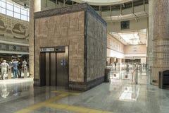 Istanbul Metropolitan: stations and subway trains. Turkey. Royalty Free Stock Photo