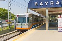 Istanbul Metropolitan: stations and subway trains. Turkey. Stock Photo