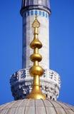 Istanbul, minaret de la mosquée et de la copule bleues Photo libre de droits