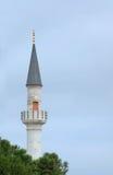 istanbul minaretkalkon Arkivfoton
