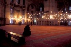 istanbul moské Arkivbild