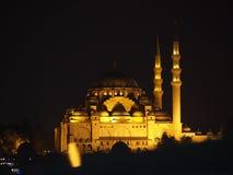 Istanbul moské Fotografering för Bildbyråer