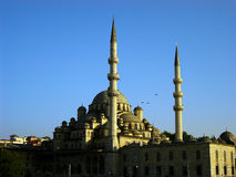 Istanbul mosque. In the evening Stock Photo
