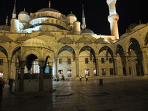 Istanbul mosque Royalty Free Stock Photos