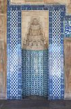 Istanbul Mosque Tile Decoration Stock Photography
