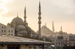 Istanbul Mosques Stock Images