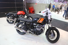 Istanbul Moto cykelexpo Arkivbilder