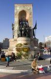 Istanbul - Mustafa Kemal monumnet Royalty Free Stock Image