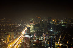 istanbul natt Royaltyfri Fotografi