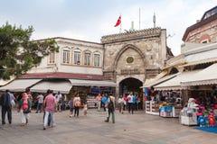 Istanbul near Grand Bazaar gate Royalty Free Stock Photo