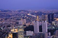 Istanbul at Night Stock Image