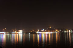 Istanbul at night Royalty Free Stock Images