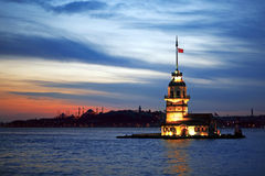 Istanbul Night Royalty Free Stock Images