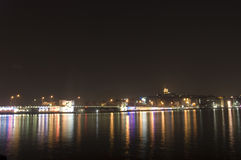 Istanbul at night Royalty Free Stock Photography