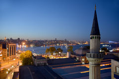 Istanbul in night Royalty Free Stock Photography