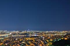 Istanbul night scene Royalty Free Stock Photos