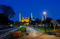 Istanbul at night, Turkey Stock Image