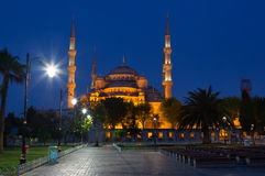 Istanbul at night, Turkey Royalty Free Stock Images