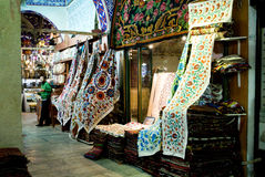 ISTANBUL, November 22: People shopping in the Grand Bazar in Istanbul, Turkey Stock Image