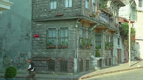 Istanbul old house Stock Photos