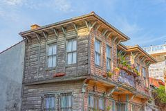 Istanbul old house Stock Photos