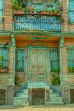 Istanbul old street house Royalty Free Stock Photos