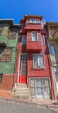 Istanbul old street house Stock Image