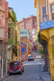 Istanbul old street - Phanar district Stock Images