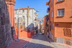 Istanbul old street - Phanar district Stock Photos