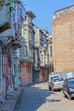 Istanbul old street - Phanar district Royalty Free Stock Images