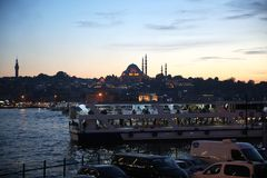 Istanbul is One of the 81 Cities of the City and Country in Turkey royalty free stock images